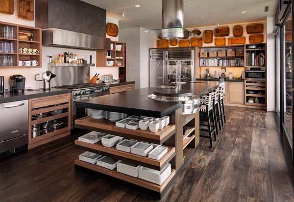 cozinha da Ellen DeGeneres