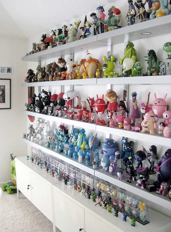 coleção geek na decoração