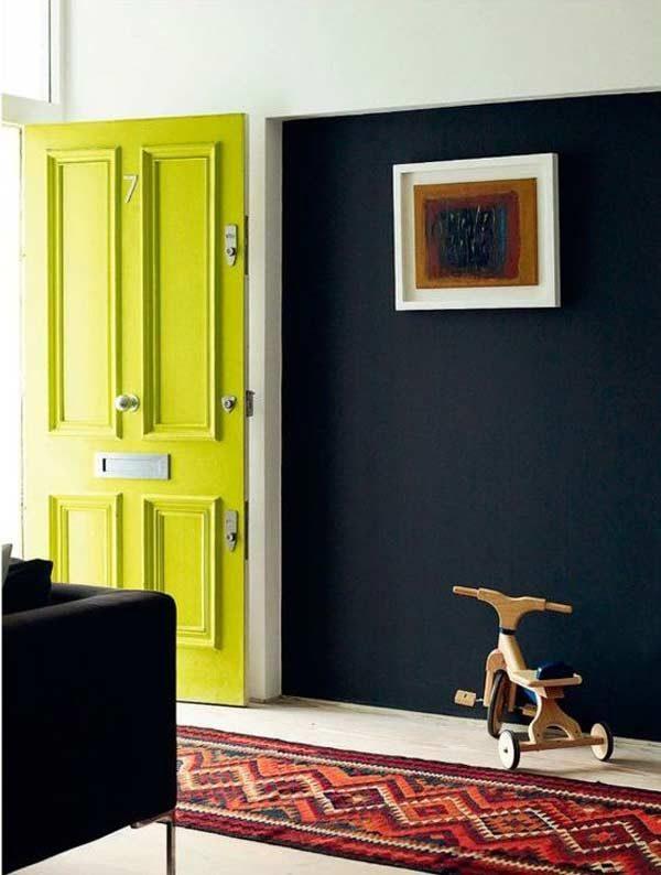 porta cor neon