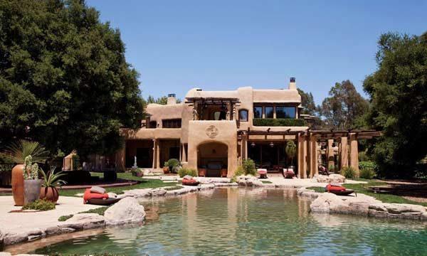 lago artificial mansão de famosos