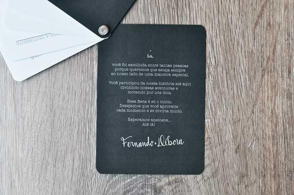 convite de madrinha de casamento personalizado