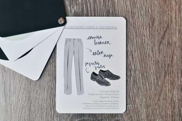 manual de vestimenta de padrinhos de casamento