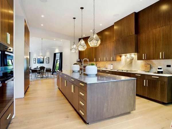 cozinha das mansões de famosos