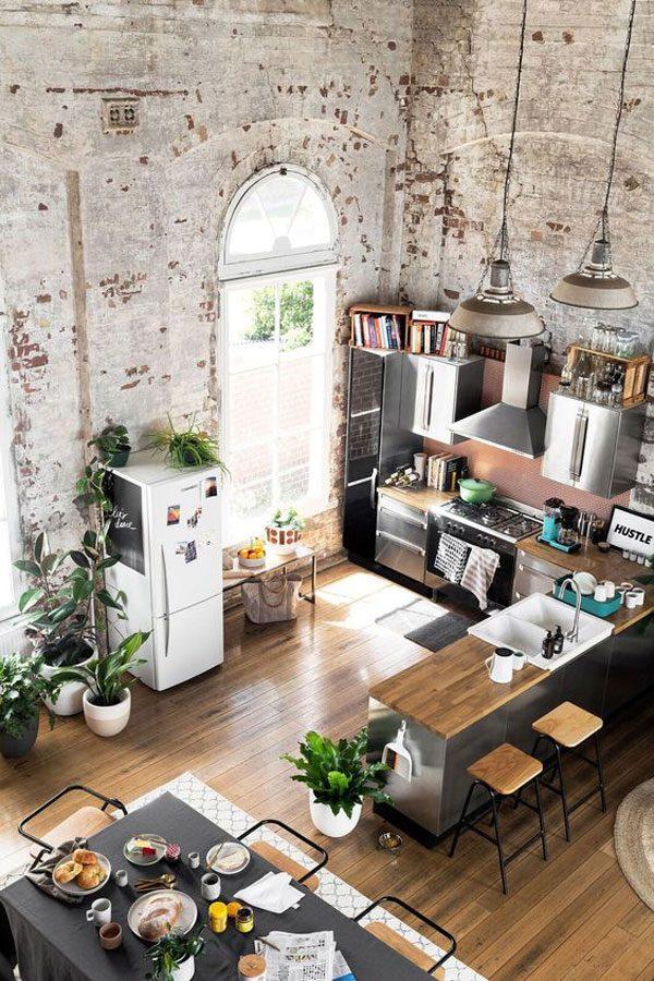 moradias em lofts