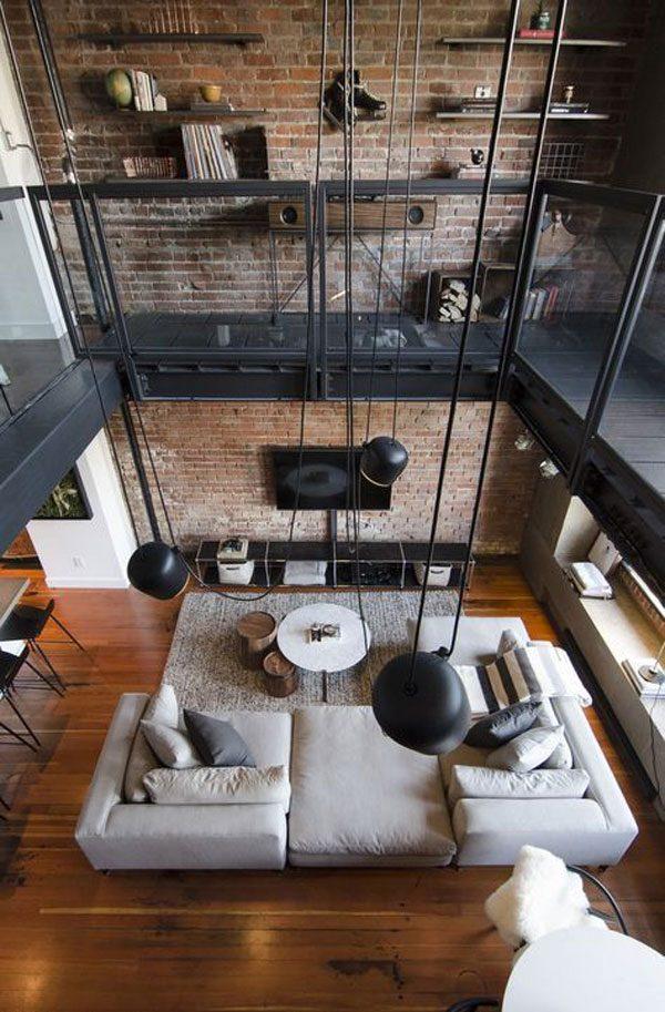 explorando espaço moradias em lofts