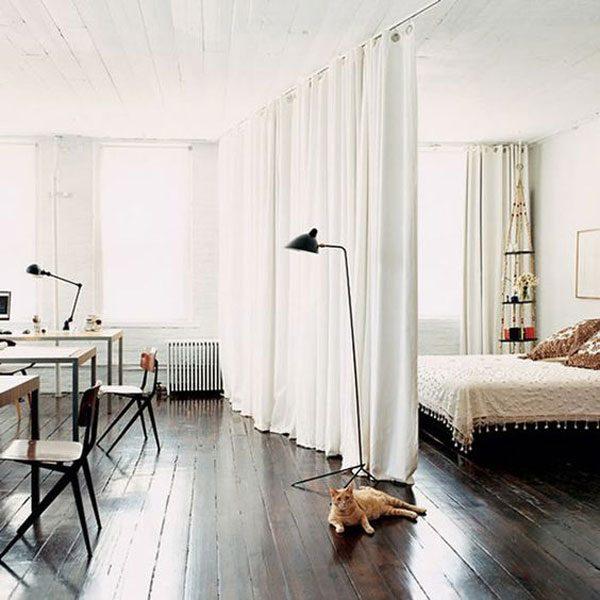 divisória de ambientes lofts