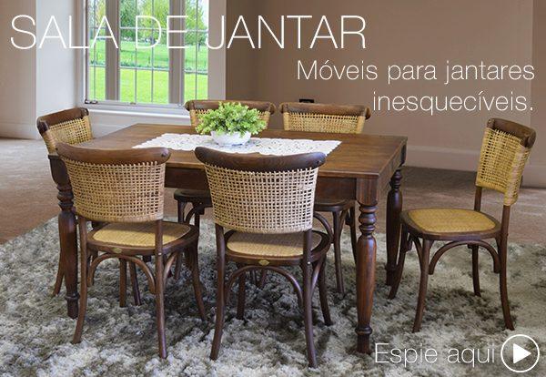 móveis de madeira para sala de jantar