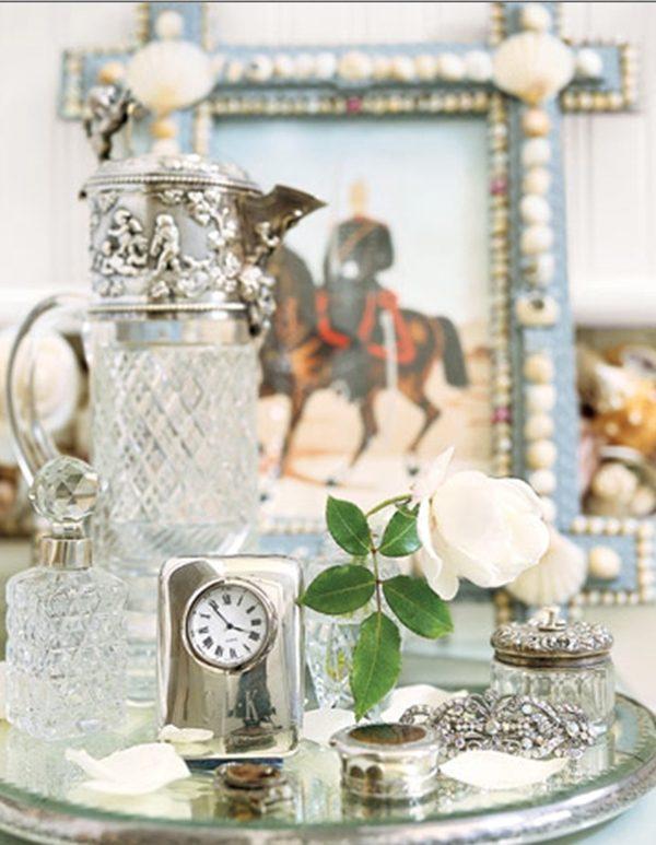 decoração prata