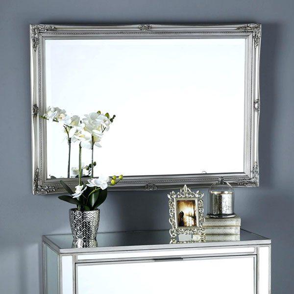 espelho prata na decoração