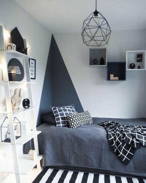 triangulo na parede