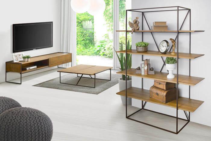 móveis rústicos contemporâneos
