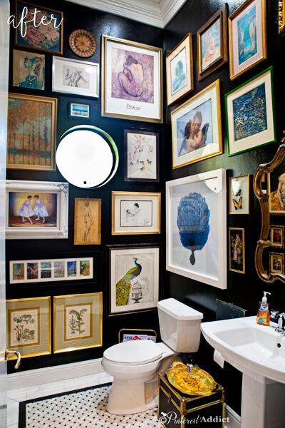 gallerywall lavabo