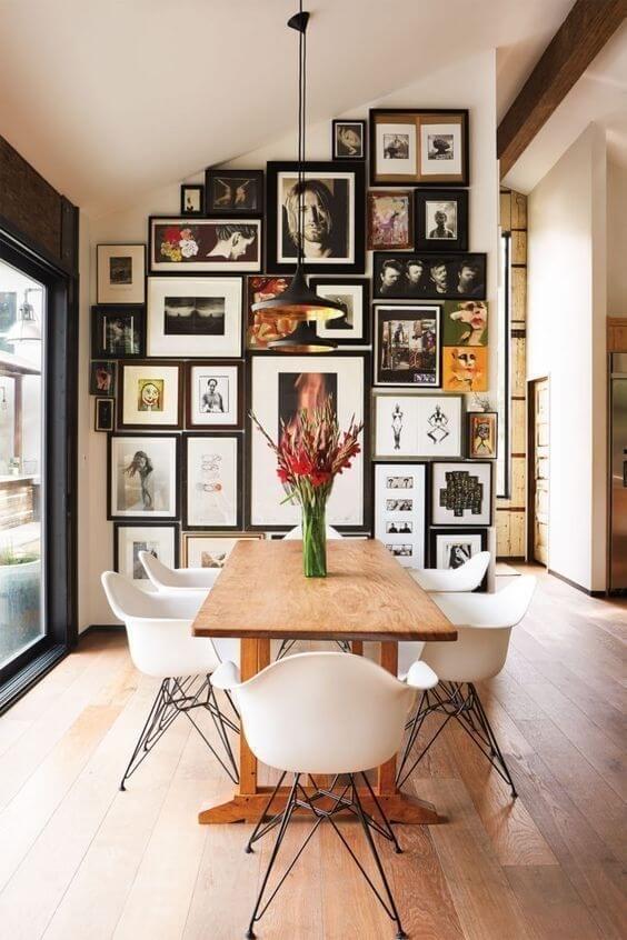 gallerywall na cozinha