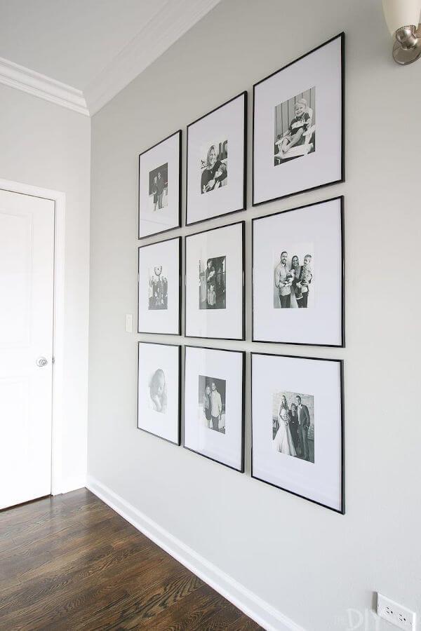 Quadros simétricos Gallerywall