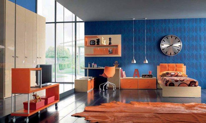 azula na decoração de casa