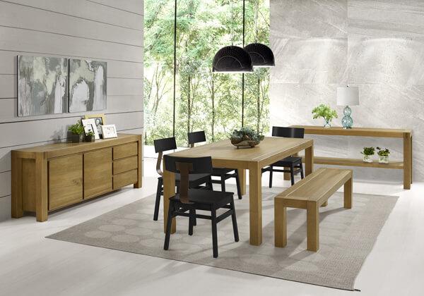 madeira e cores neutras