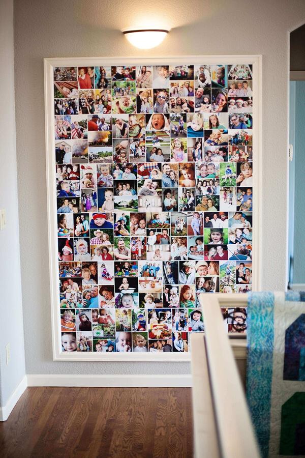 gallery wall tendência na decoração
