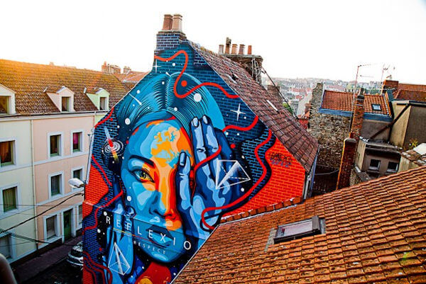 fachada pintura grafite