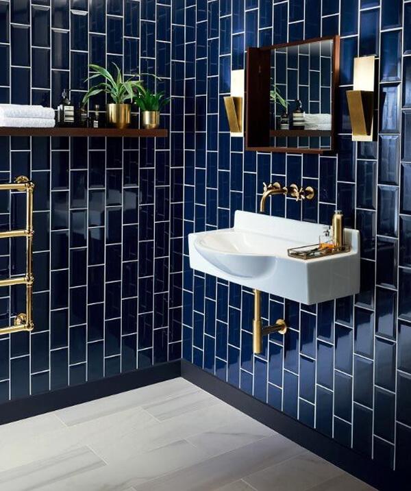 azulejo colorido tendência