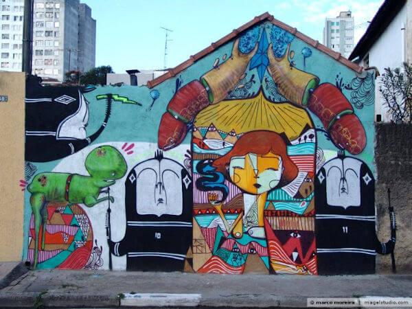 moradia pintura grafite