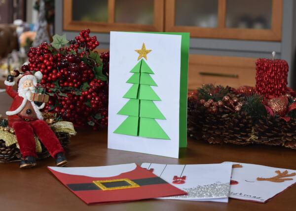 cartão natalino pinheirinho