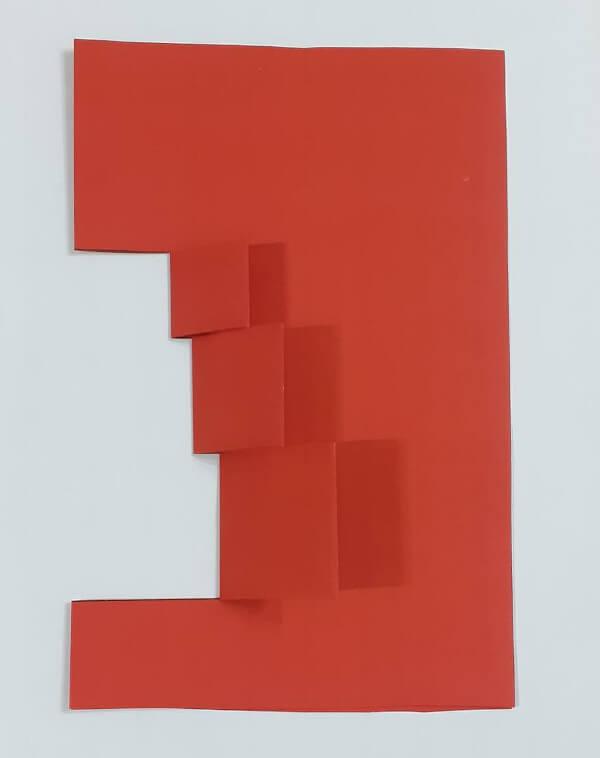 colagem cartão efeito 3D