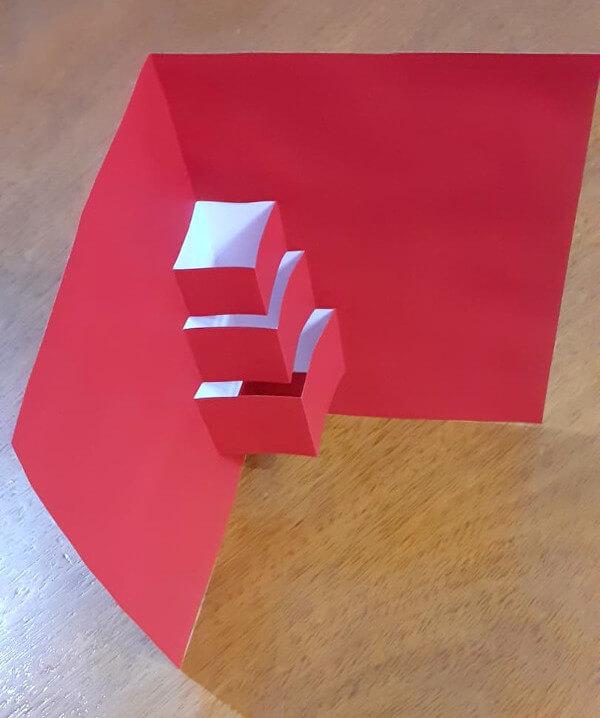 cartão 3D de Natal