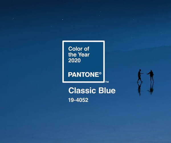 cor pantone 2020 Classic Blue