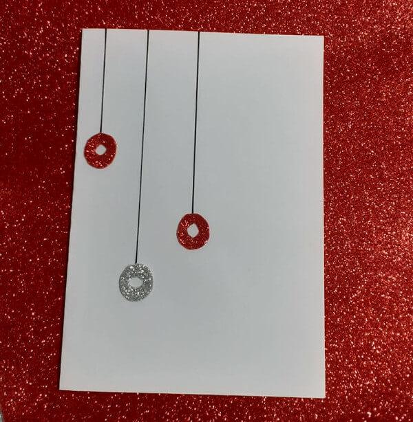 colagem cartão natalino