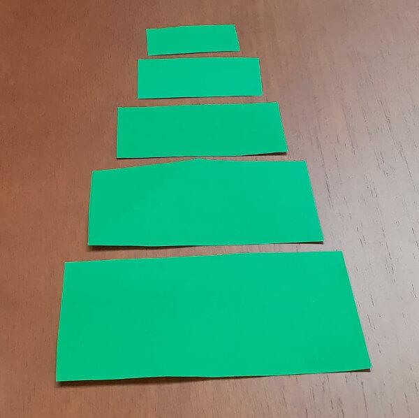 molde pinheirinho cartão
