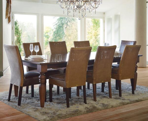 cadeira ideal para cada mesa