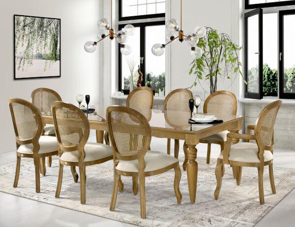 cadeira imponente na decoração