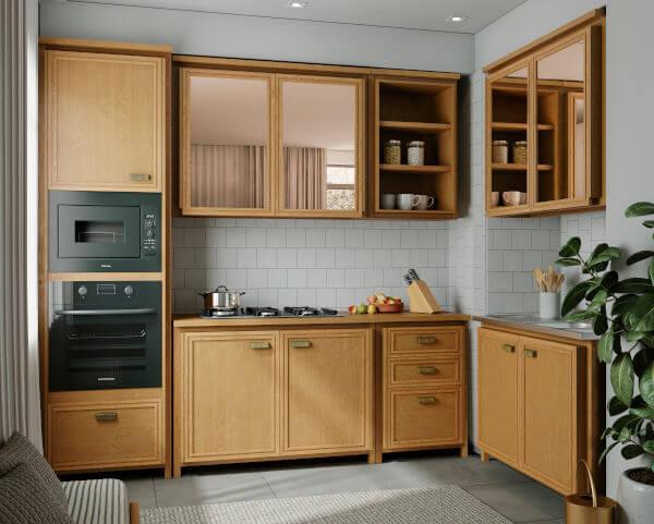 renovar a cozinha de madeira