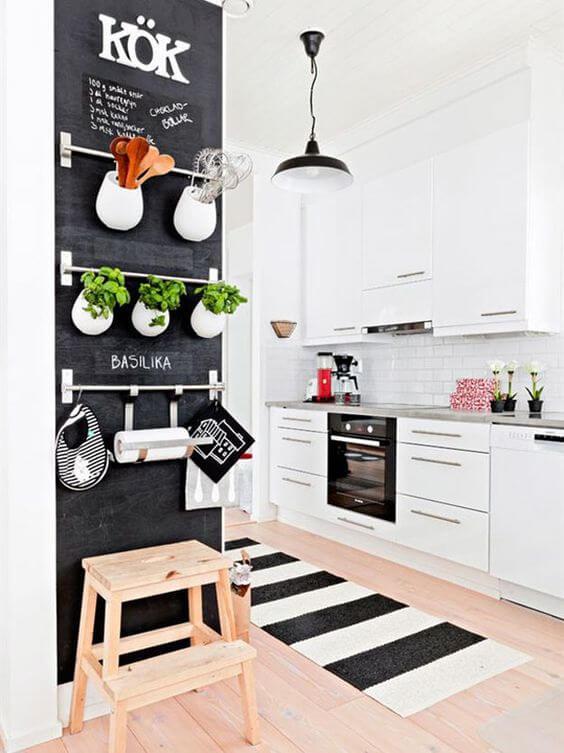 decorar tapete na cozinha