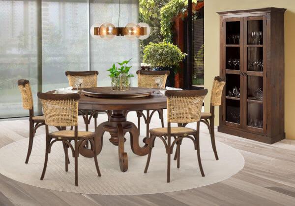 mesa jantar redonda