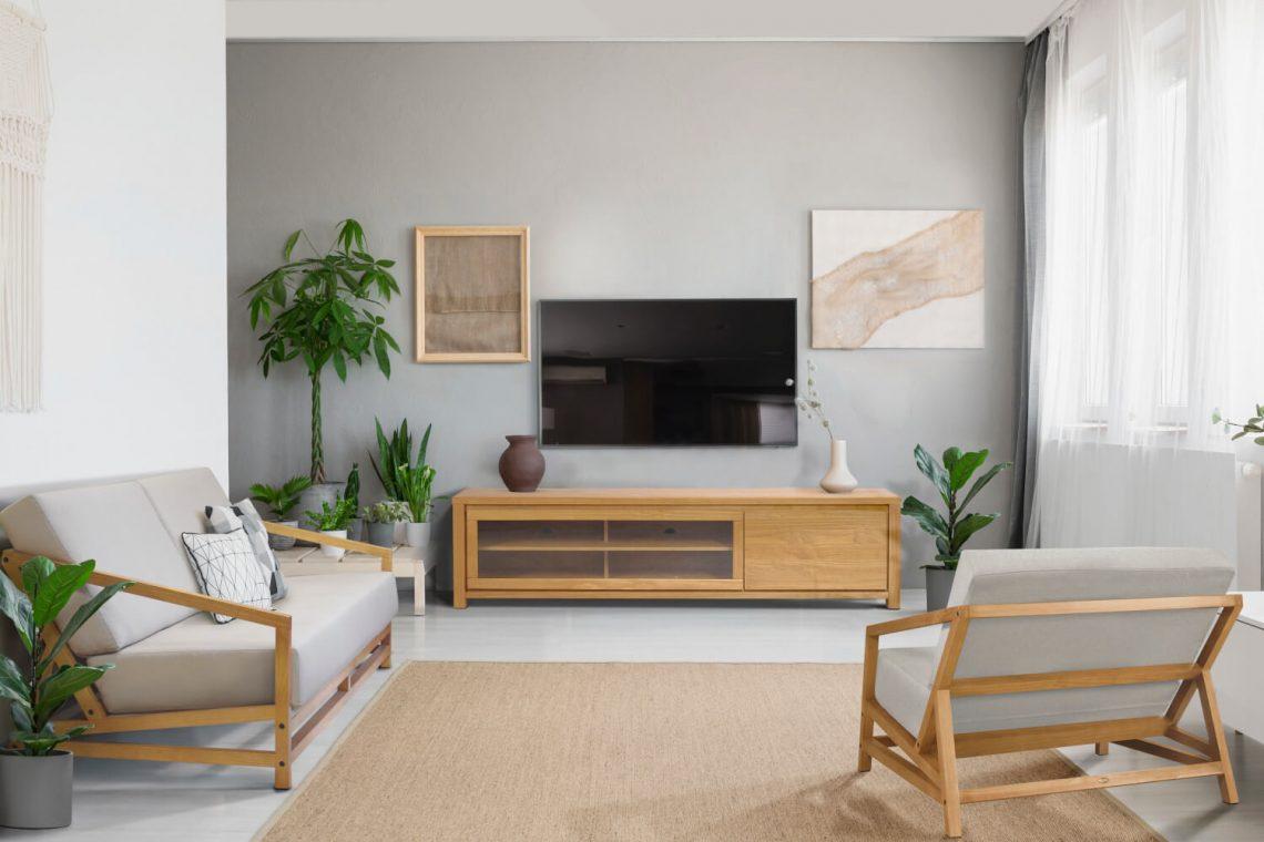 renovando a sala de estar e TV
