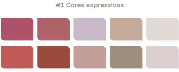 paleta cores expressivas Coral 2021