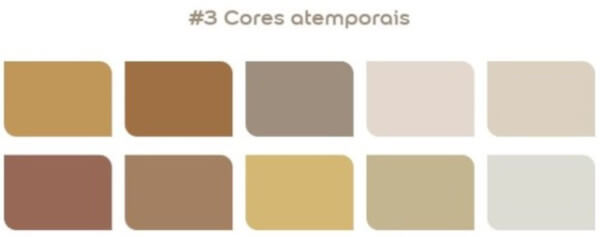paleta cores atemporais Coral 2021