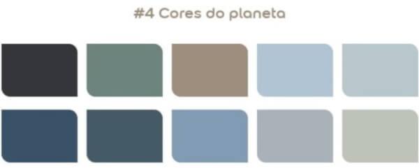 Paleta cores do planeta Coral 2021