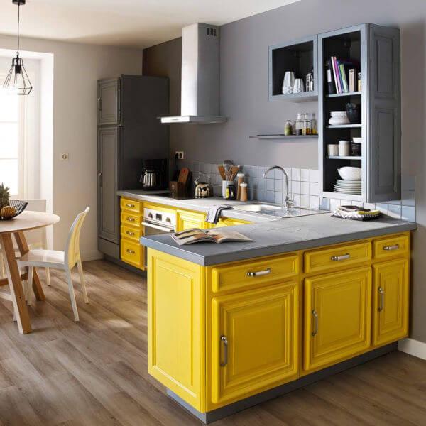 cozinha amarela pantone 2021