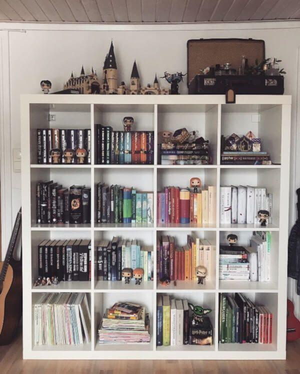 Coleção de itens do Harry Potter