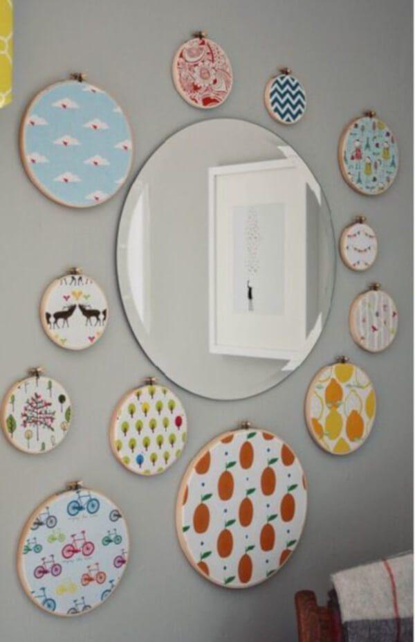 Mosaicos com espelhos