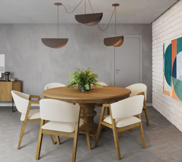 Mesas de madeira para sala de jantar